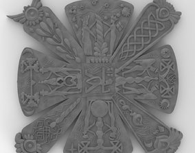 3D print model Slavic cress - amulet