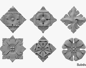 Architectural Ornament vol 01 3D model