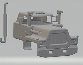 Old R Printable Cabin Truck