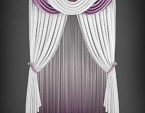 Curtain 3D model 183 game-ready