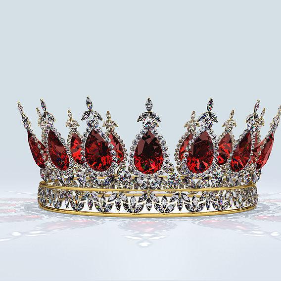 Ruby & Diamond Crown