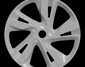 3D model Car rim 3