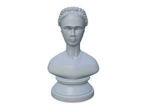 Frida statue bust 3d print ready model