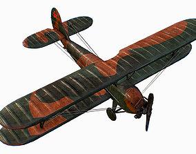 Russian Soviet biplane Polikarpov Po-2 Kukuruznik 3D asset
