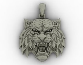 Tiger pendant model