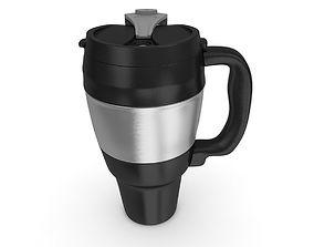 Travel Mug Realistic 3D