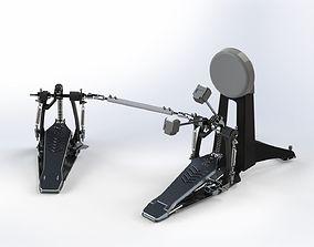 3D drum pedals cardan