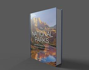 3D asset America National Parks Hardcover Book