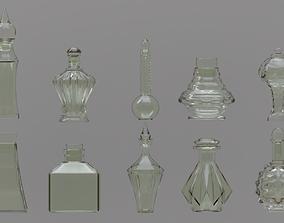 3D Potion Bottle Set