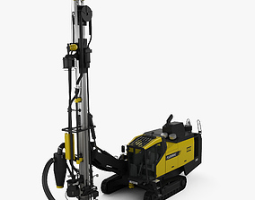 Atlas-Copco D65 Drill Rig 2009 3D model