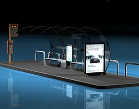 Bus stop1 3D