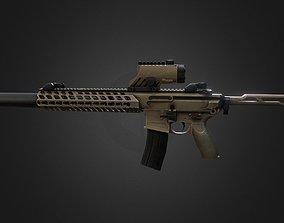 Sig-mcx-sbr Gun-weapon model 3D asset