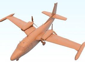 3D printable model Piaggio P166S Albatross