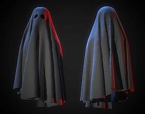 Ghost Cloth 3D asset