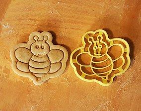 3D print model Bee cookie cutter