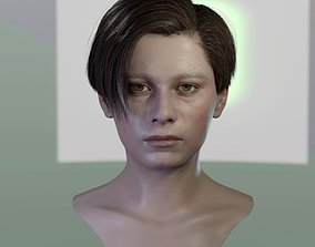 VR / AR ready 3d model John Connor Edward Furlong