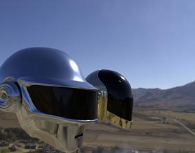 Daftpunk Helmets 3D model other