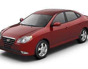 3D model Hyundai Elantra Avante 2007