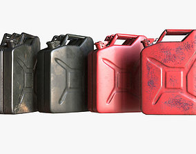 Military Jerrycan game ready 3D asset