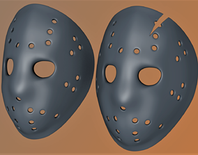 Jason Voorhes mask 3D print model
