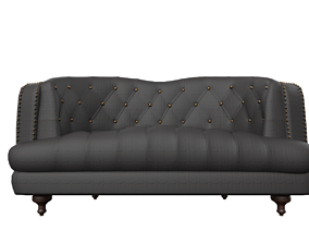 Chesterfield Sofa 3D model low-poly