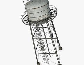 Water Tower wild 3D
