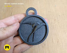 3D print model Witcher swallow amulets