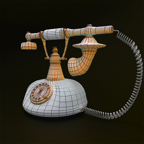 Rotary Retro telephone