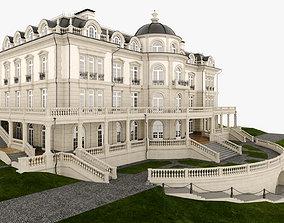 Classic Manor Villa 3D model