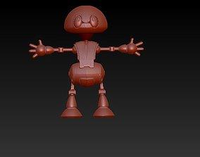 Social robot 3D print model
