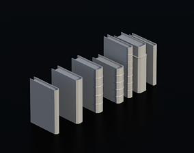 3D asset Books 01