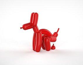 Pooping Balloon Dog 3D printable model