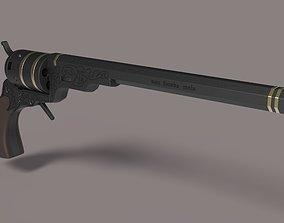 3D model Pistol from the movie Supernatural