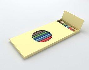 Colour Pencil 3D box