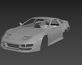Nissan 300ZX Tuning Body For Print 3D printable model