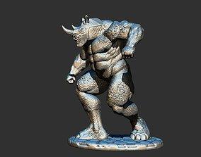 3D printable model man RHINO MARVEL