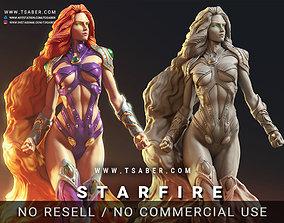 Starfire Statue 3d print - DC Teen Titans