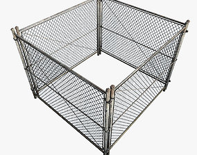 Iron Fence 3D iron