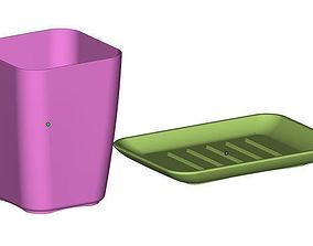 3D printable model Cup and Soap dish