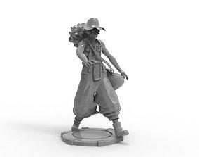 3D printable model Usopp - Tough Walk Pose