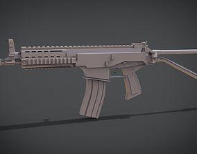3D print model RPS YONG-YUTH 52 carbine