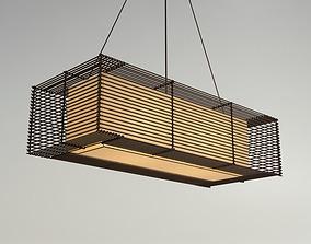 KAI Rectangular Hanging Lamp - Slim 3D