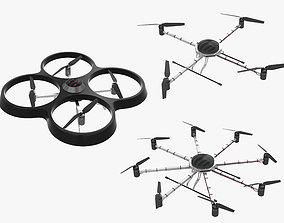 3D model Drone Collection