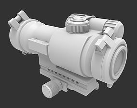 3D model Scope 05 - High poly