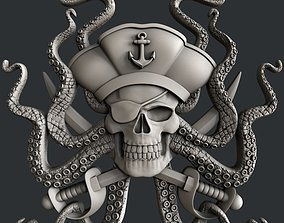 3d STL models for CNC router Pirate