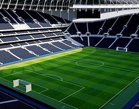 3D model Tottenham Hotspur Stadium - London