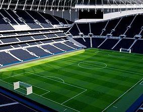 Tottenham Hotspur Stadium - London 3D model