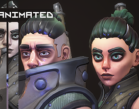Stylized Characters 3D PBR