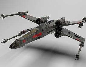 3D star wars t-65