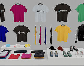 3D asset realtime Clothing Pack
